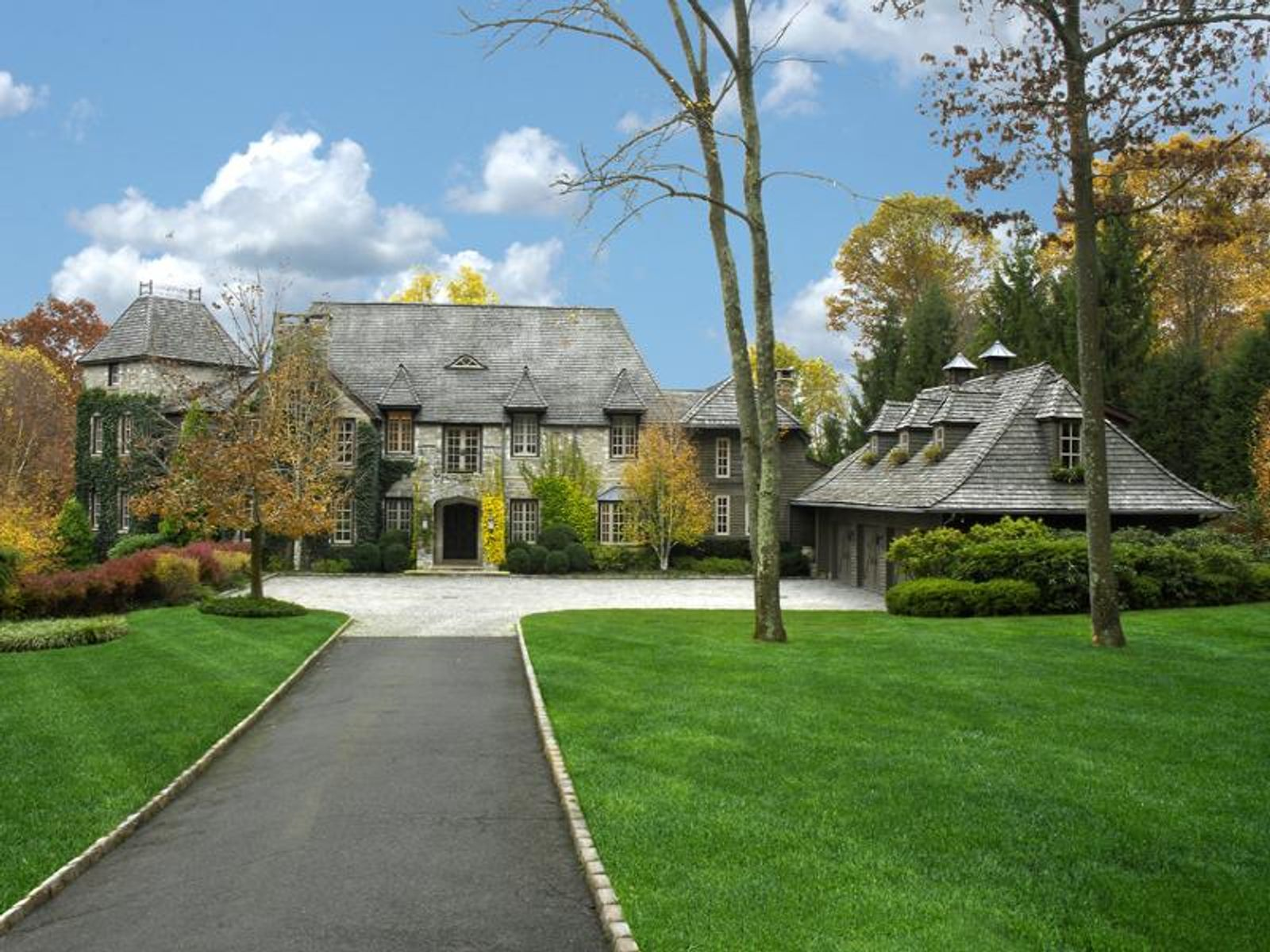 Lakefront French Country Estate, Greenwich CT Single Family Home - Greenwich Real Estate