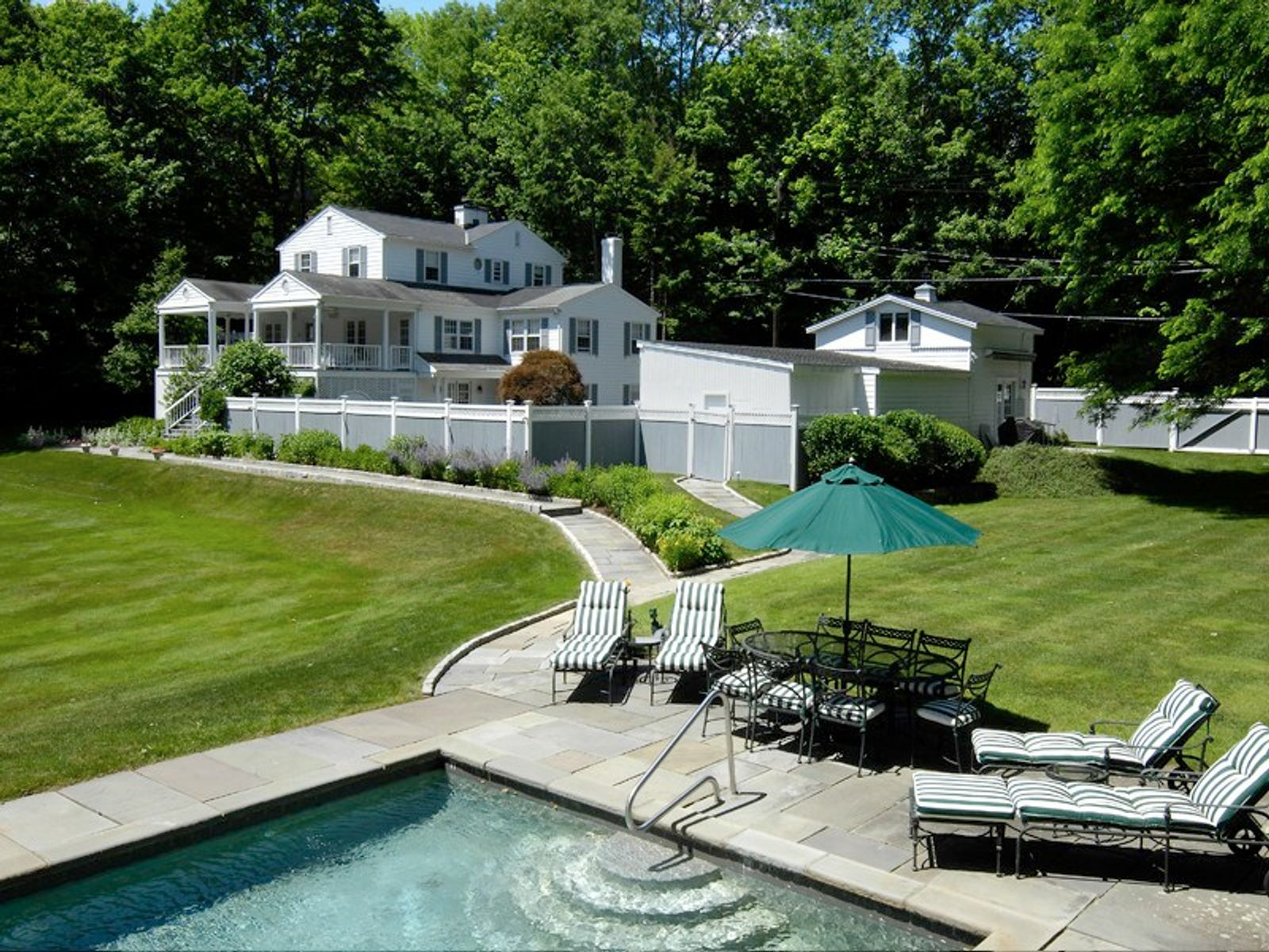 Beguiling Country House, Greenwich CT Single Family Home - Greenwich Real Estate
