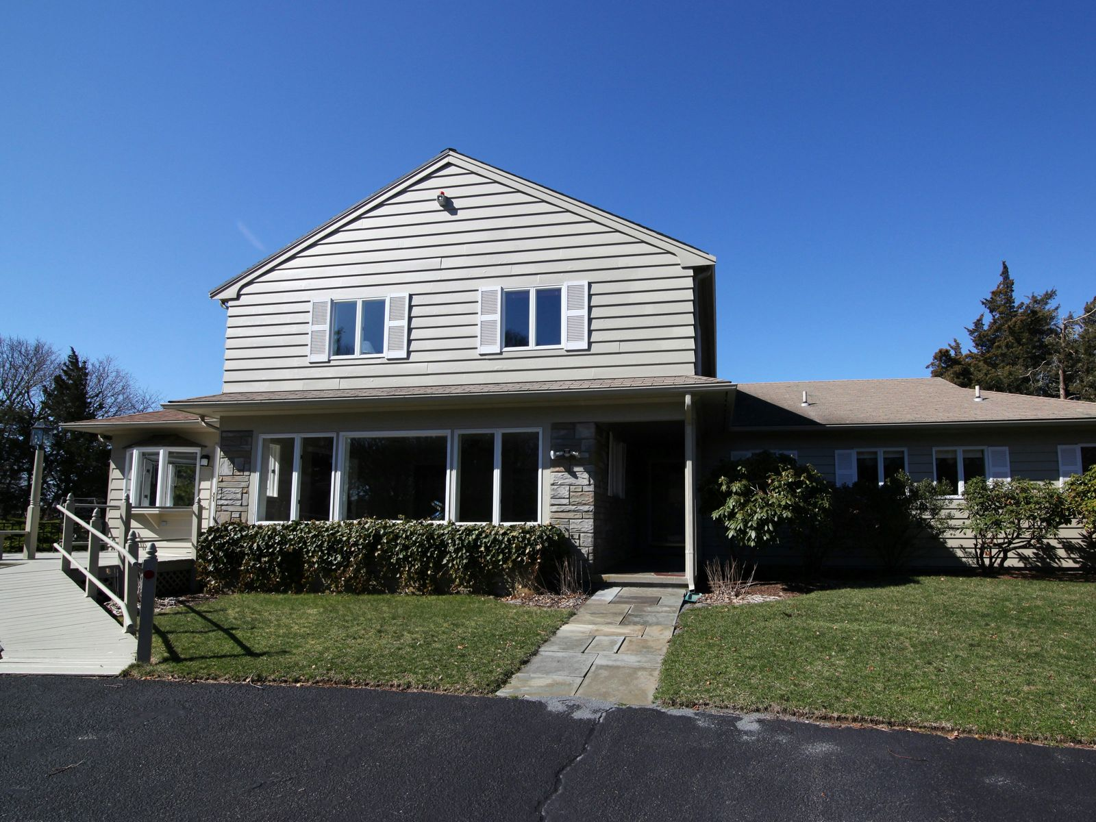 Cape Cod Compound Overlooking Harbor, Bourne MA Single Family Home - Cape Cod Real Estate