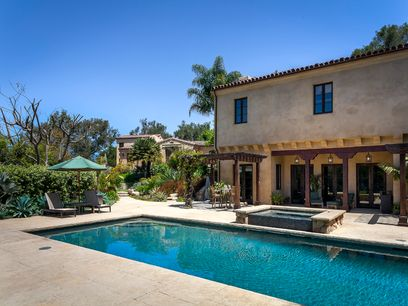 Hope Ranch Spanish Estate, Santa Barbara CA Single Family Home - Santa Barbara Real Estate
