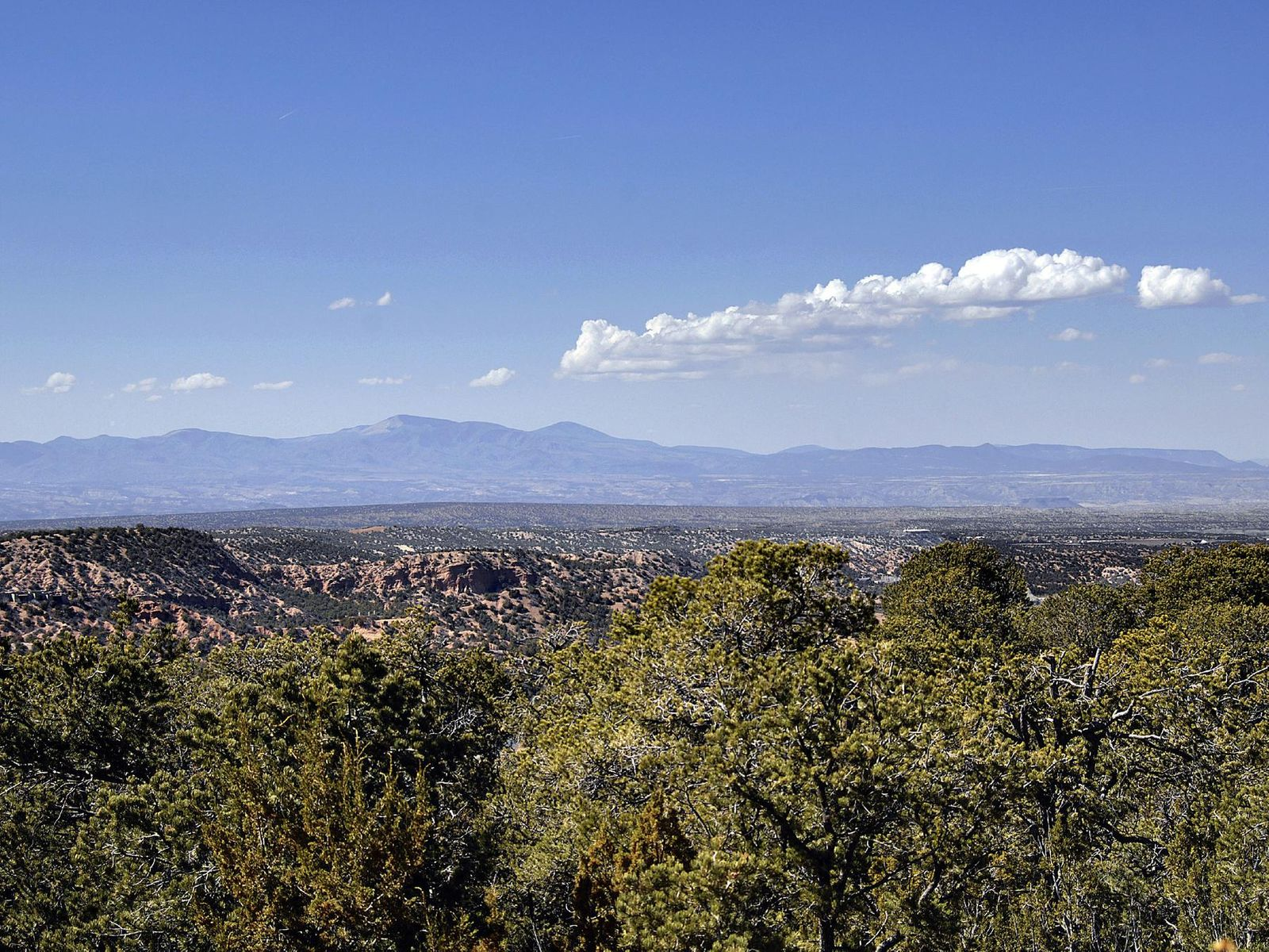 View of Jemez Mountains