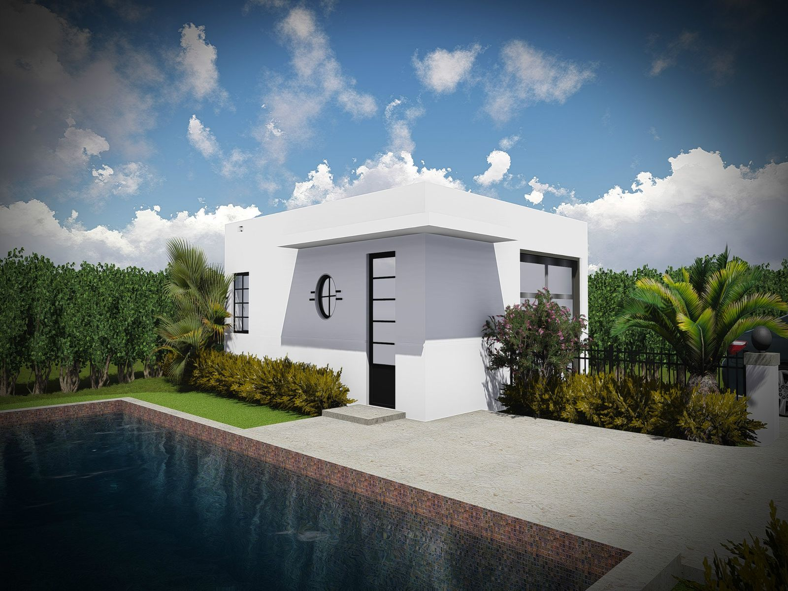 Guest House Rendering