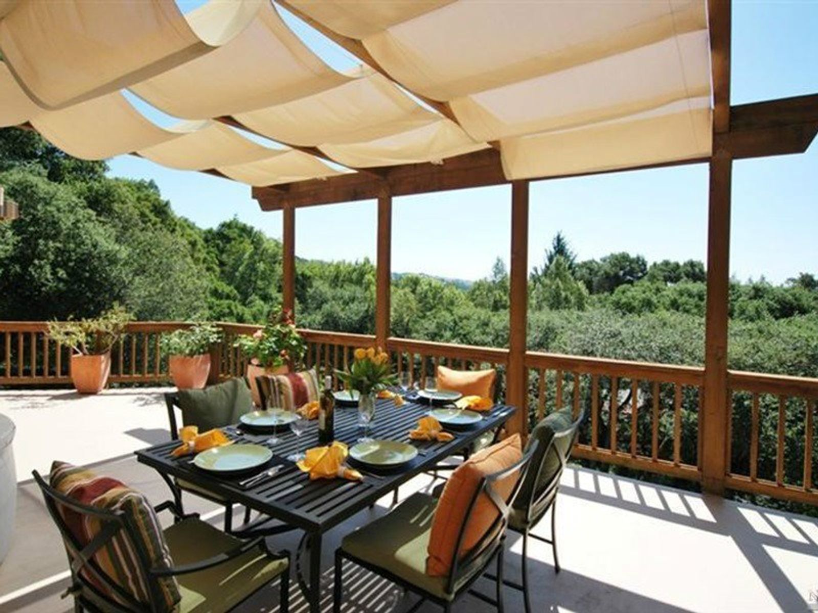 Privacy with Sweeping Views, Sonoma CA Single Family Home - Sonoma - Napa Real Estate