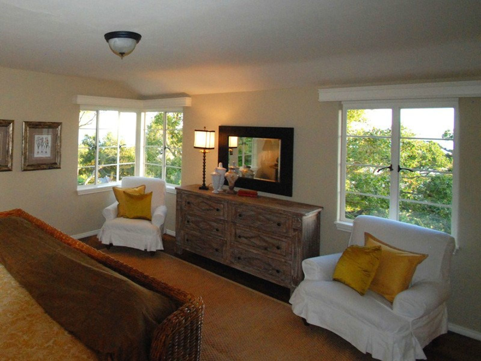 Master Bedroom with Views to the Rincon