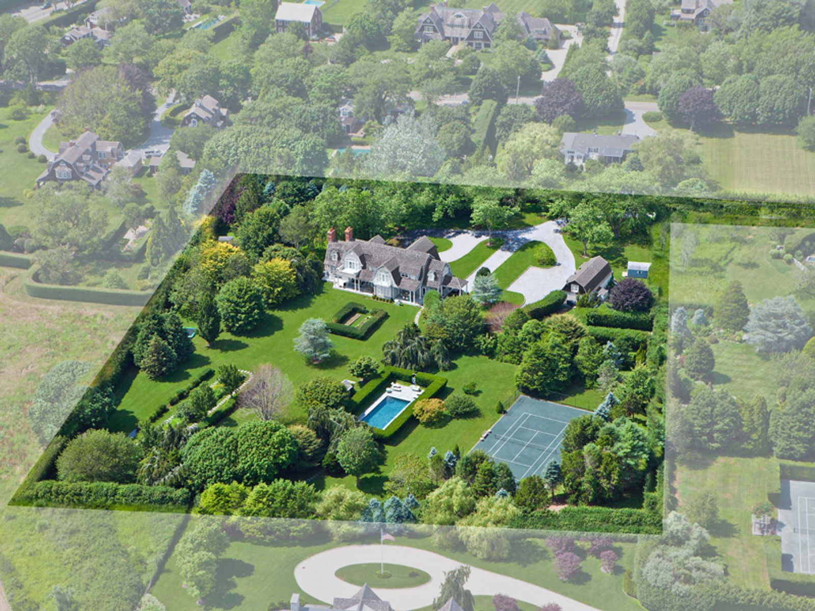 4+Acre Estate in Heart of Sagaponack