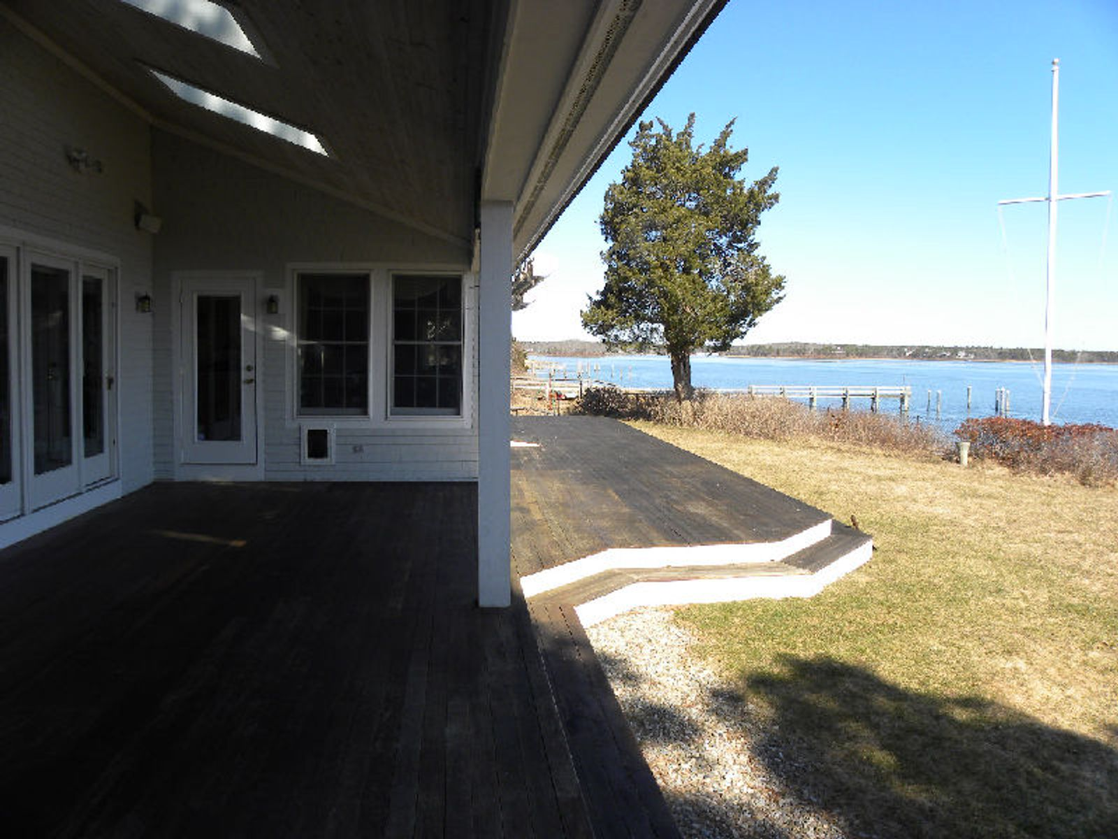 Popponesset Island Waterfront with Dock