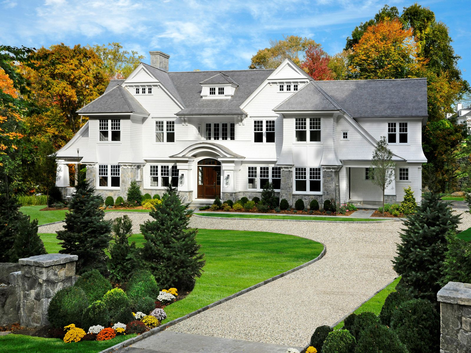New In-Town Shingle Style, Greenwich CT Single Family Home - Greenwich Real Estate