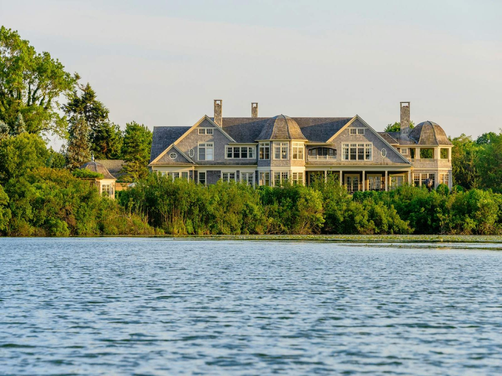 Bois Dores Waterfront Estate, Water Mill, Water Mill NY Single Family Home - Hamptons Real Estate