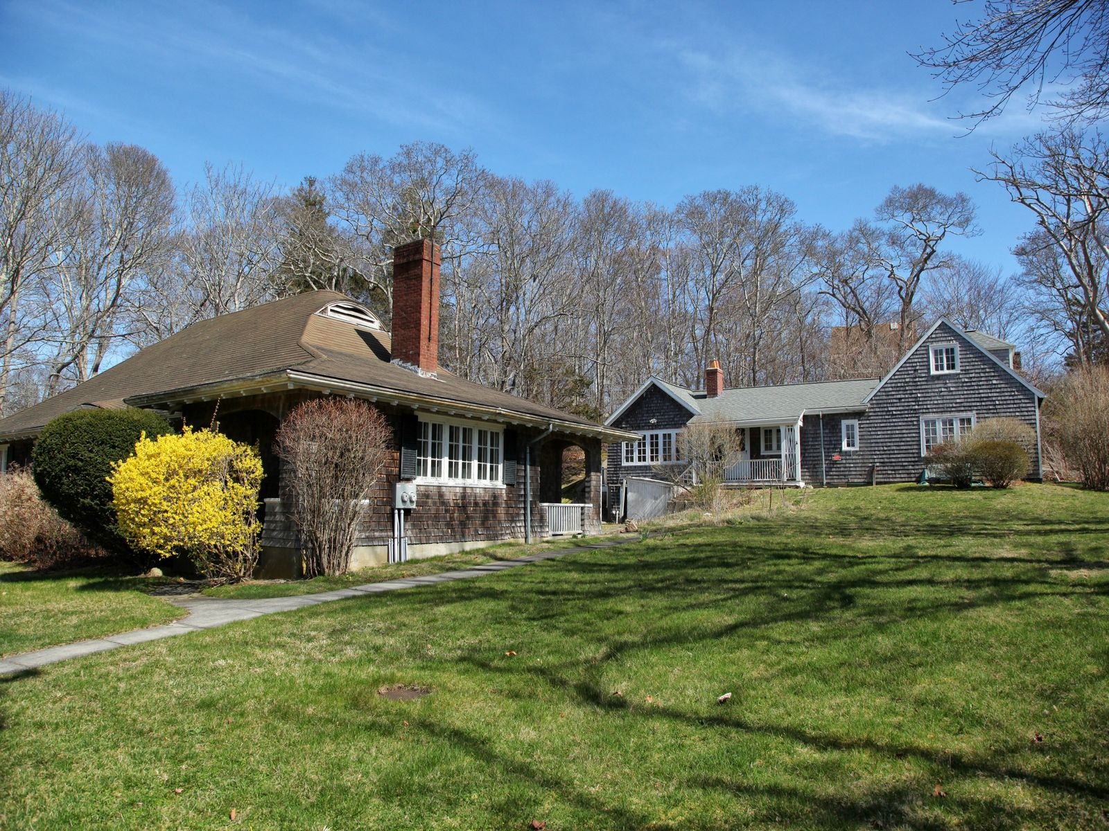 Unique Property with Buzzards Bay Views, Falmouth MA Single Family Home - Cape Cod Real Estate