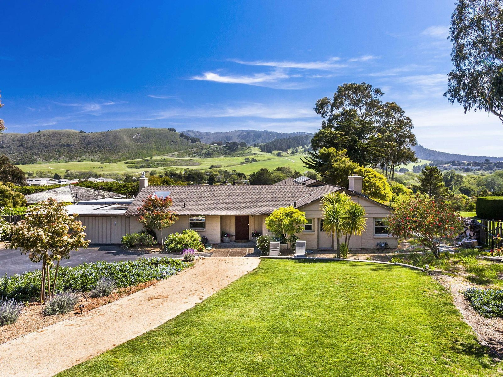 Carmel View Rancher, Carmel CA Single Family Home - Monterey Real Estate