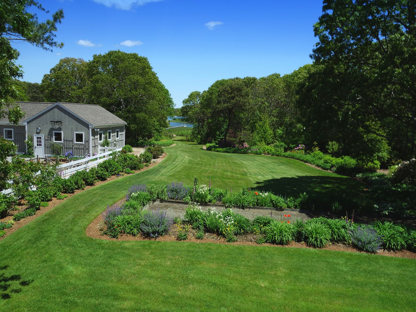 Four Acre Waterfront Compound
