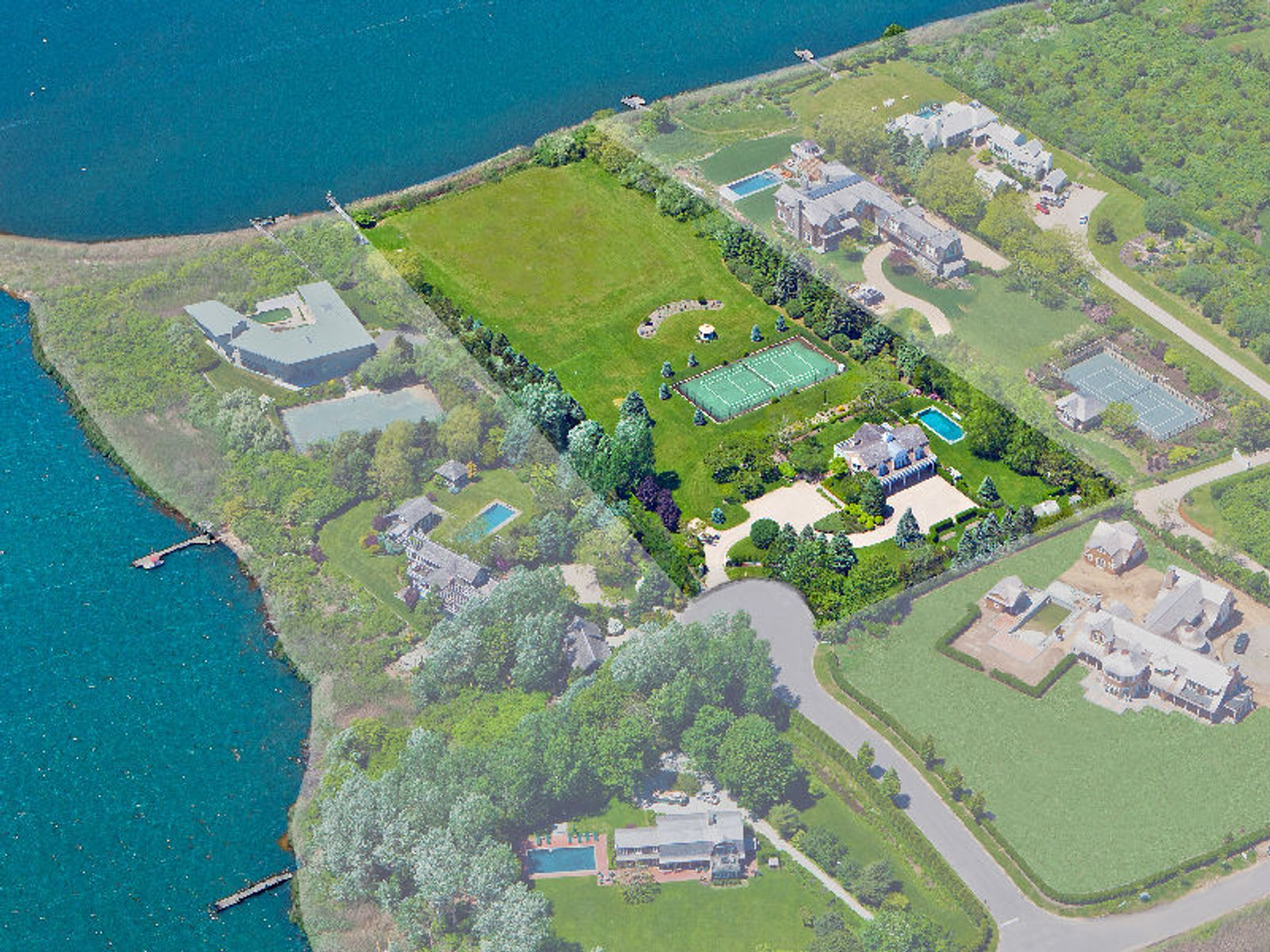 Lagmore Bayfront Estate, Water Mill NY Single Family Home - Hamptons Real Estate