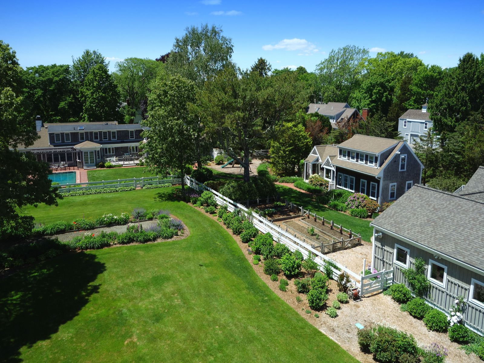 Four Acre Waterfront Compound, Falmouth MA Single Family Home - Cape Cod Real Estate