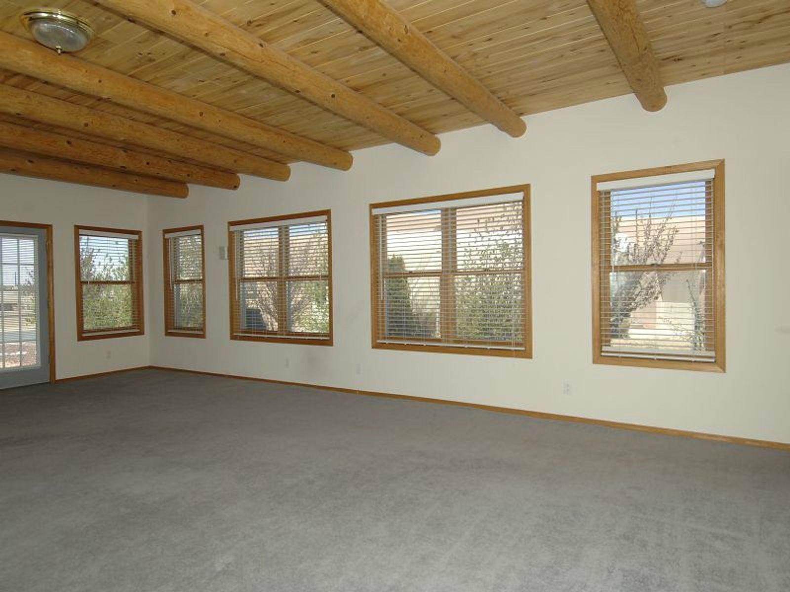 Windows shot in Huge Living Dining Room