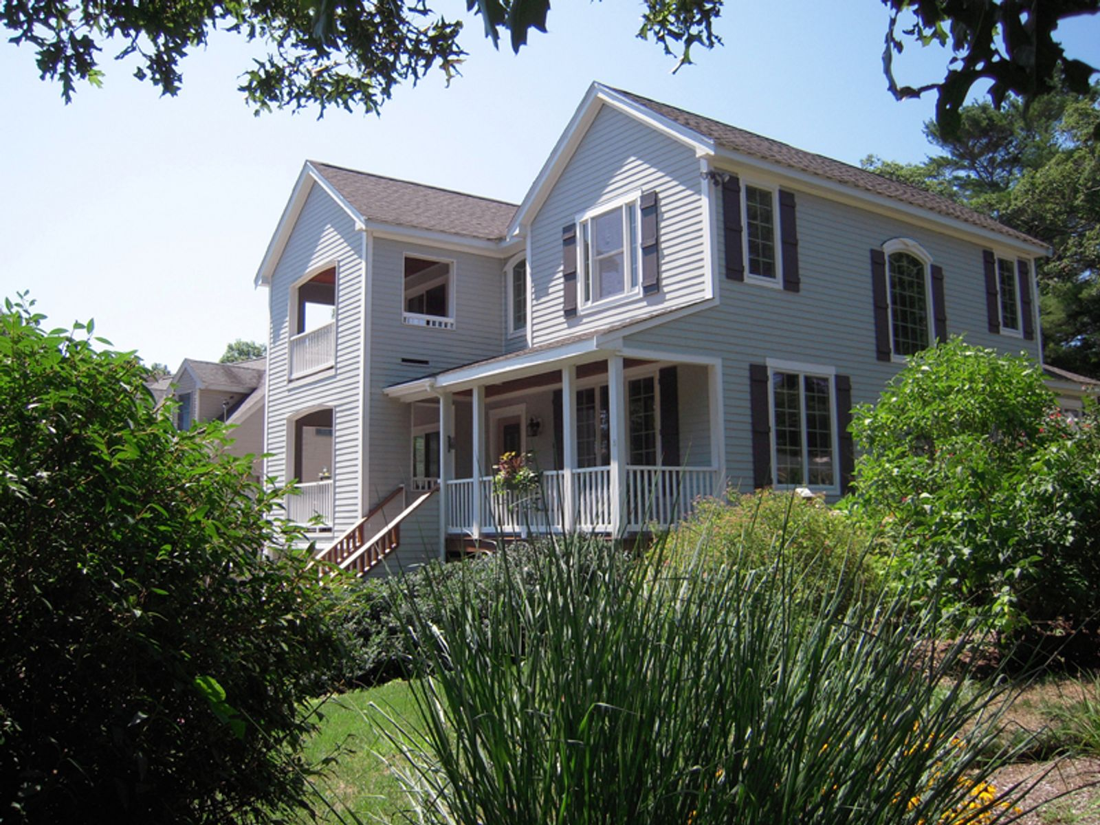 Water View with Beach Rights, East Falmouth MA Single Family Home - Cape Cod Real Estate