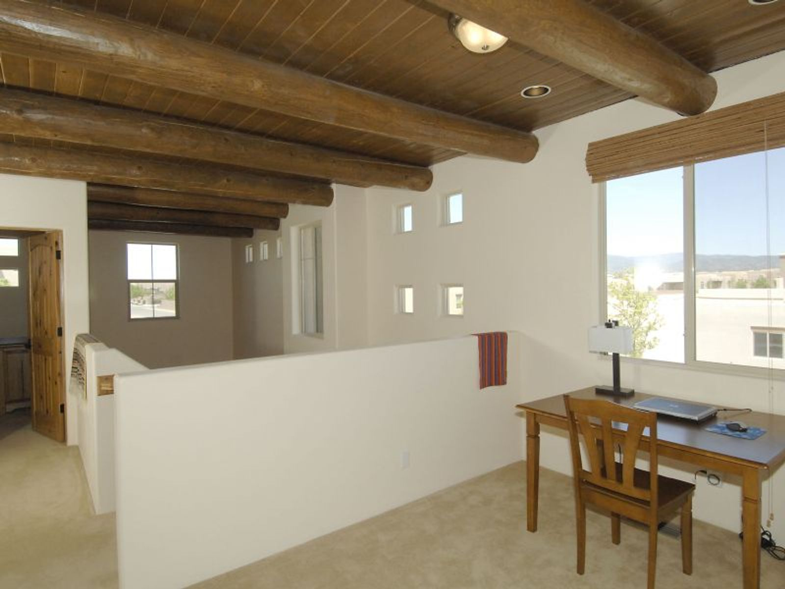 Vigas and wood ceiling treatments
