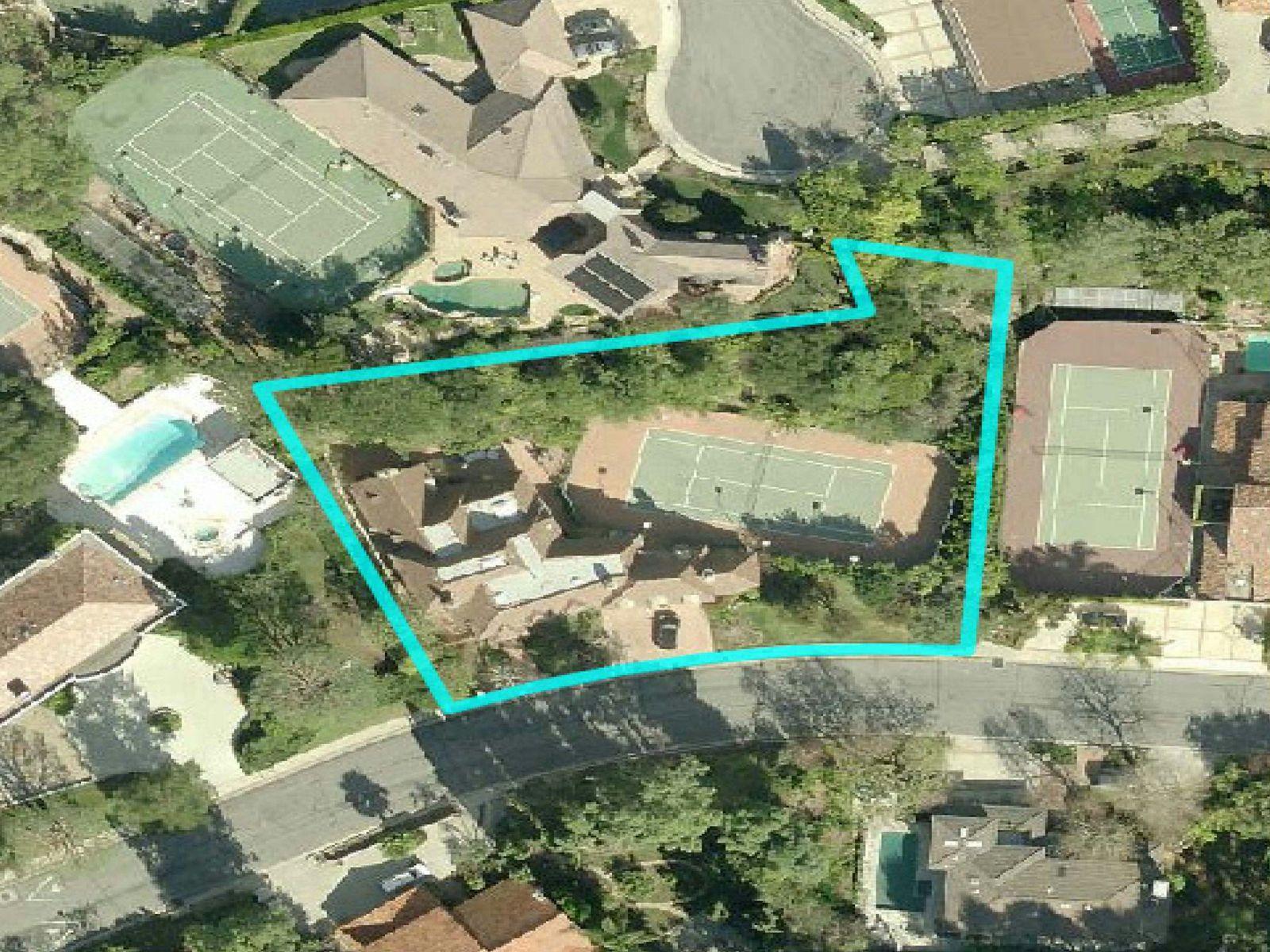 English Tudor Tennis Court Estate
