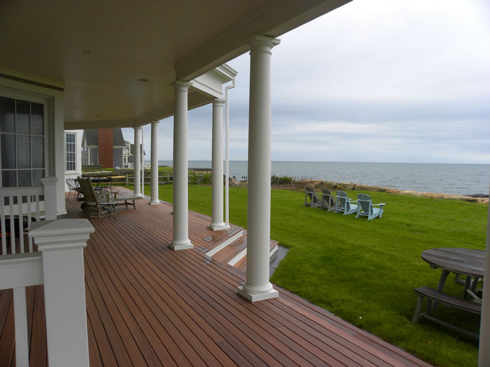 Direct Oceanfront with Sandy Beach, East Falmouth MA Single Family Home - Cape Cod Real Estate