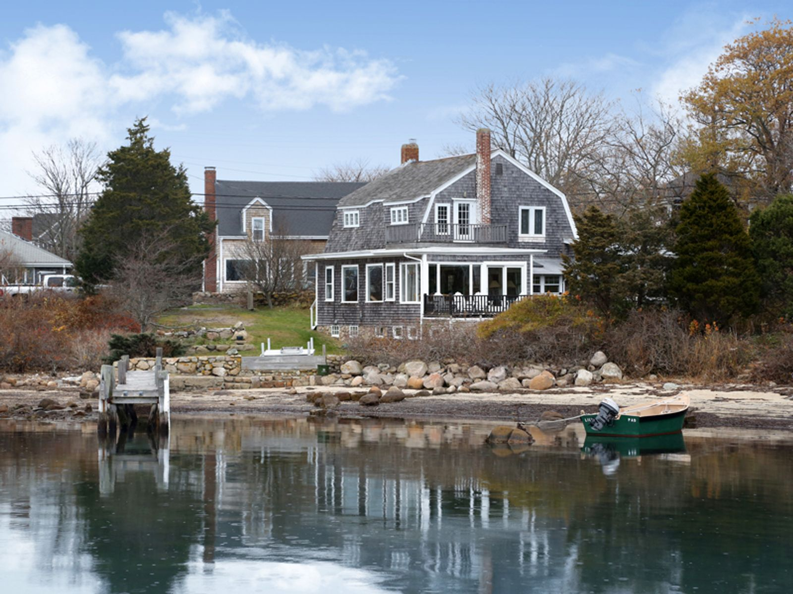 Woods Hole Village on Great Harbor, Woods Hole MA Single Family Home - Cape Cod Real Estate