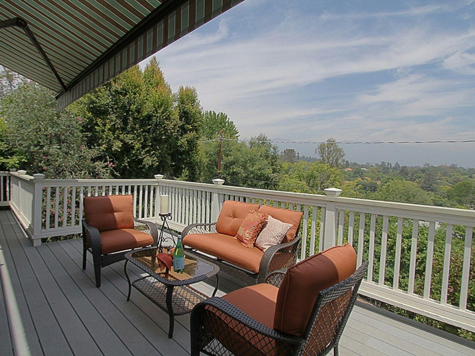 Private hideaway in the San Rafael Hills
