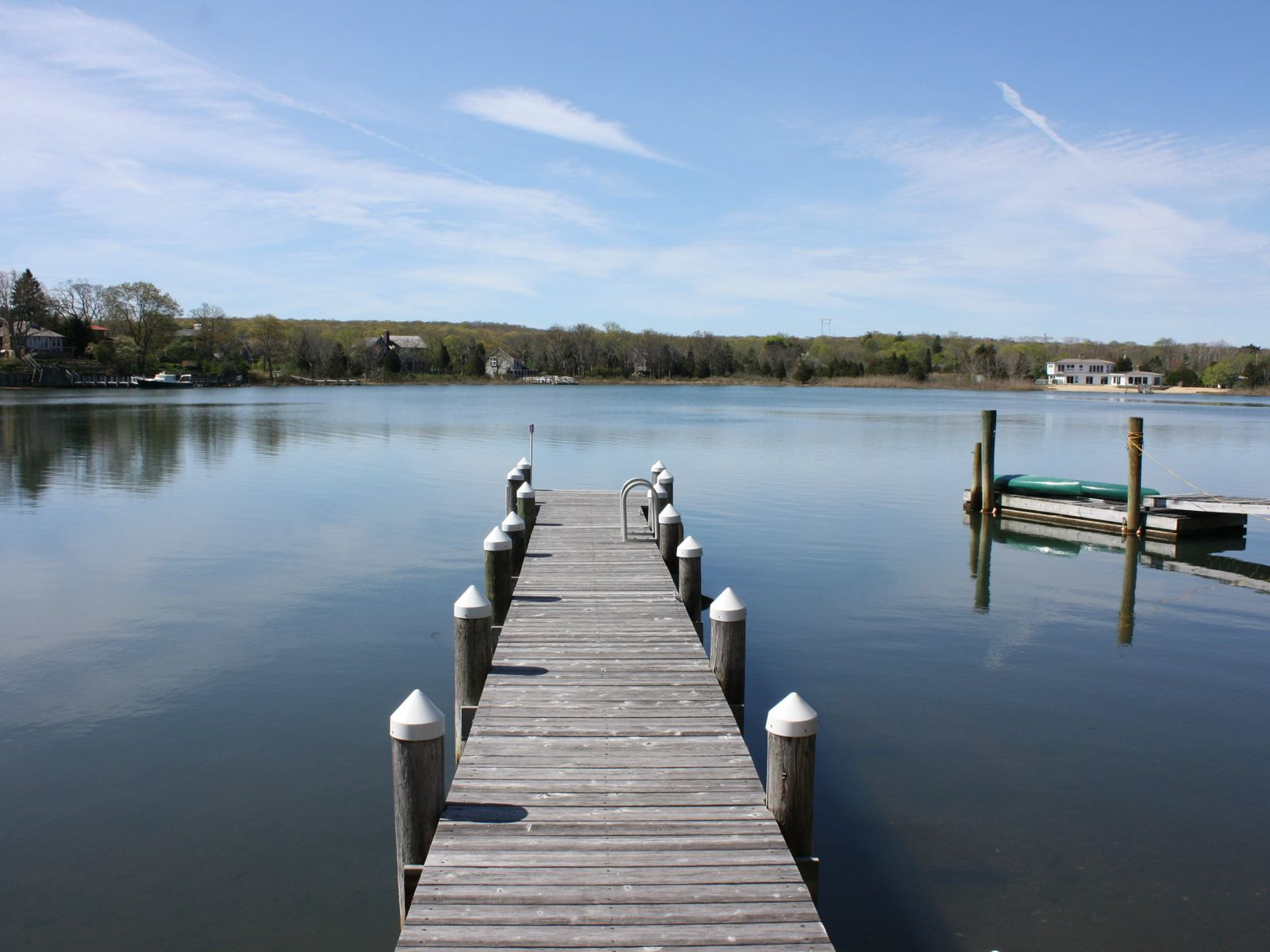 Perfect Waterfront Retreat and Dock, Sag Harbor NY Single Family Home - Hamptons Real Estate