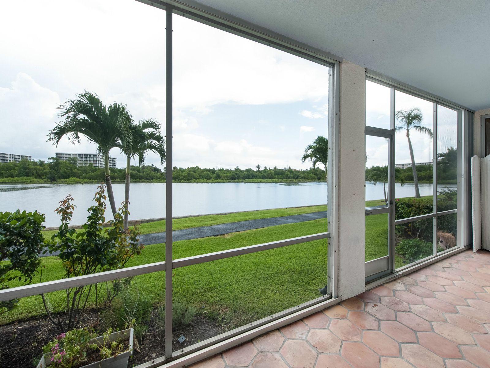 Intracoastal View Condo in Palm Beach