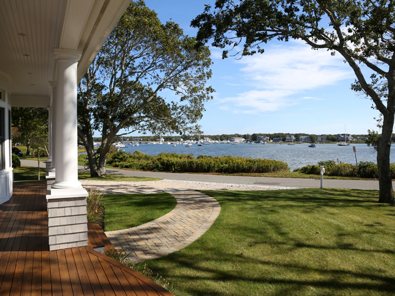 Ocean and Harbor Views, East Falmouth MA Single Family Home - Cape Cod Real Estate