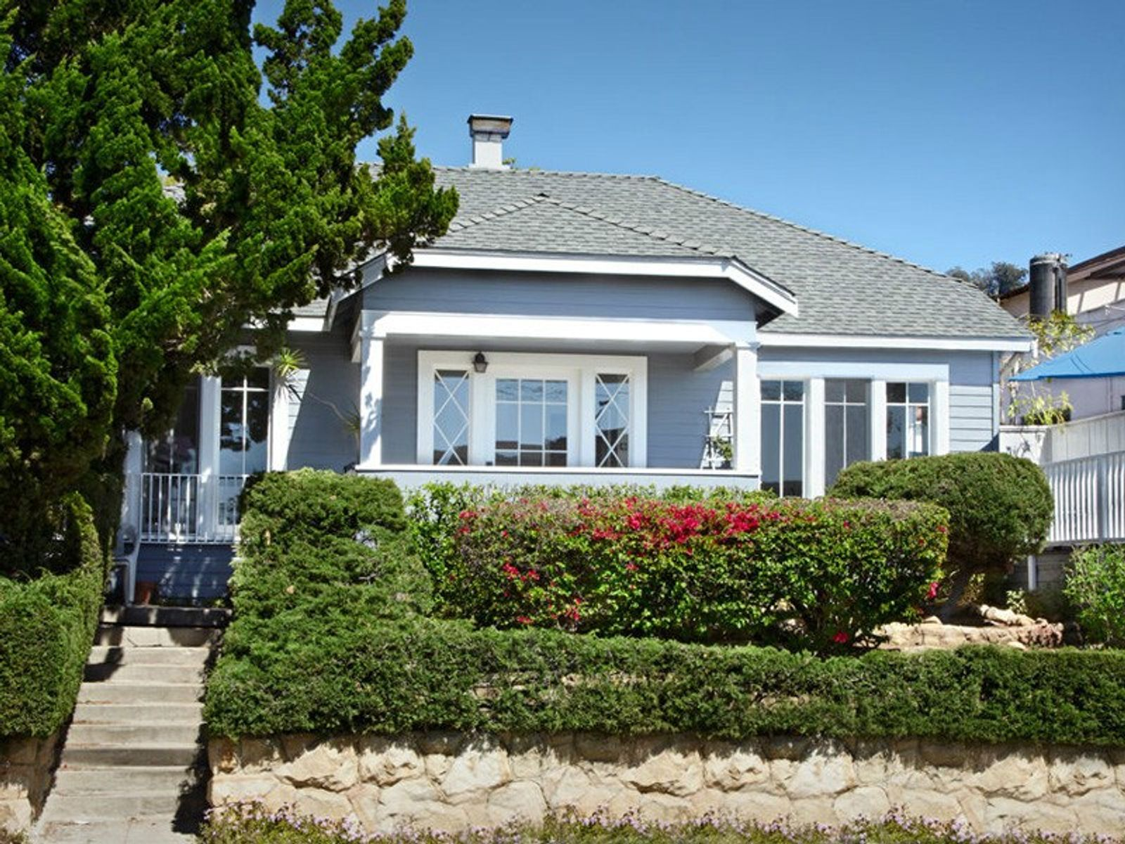 Riviera Ocean View Bungalow, Santa Barbara CA Single Family Home - Santa Barbara Real Estate