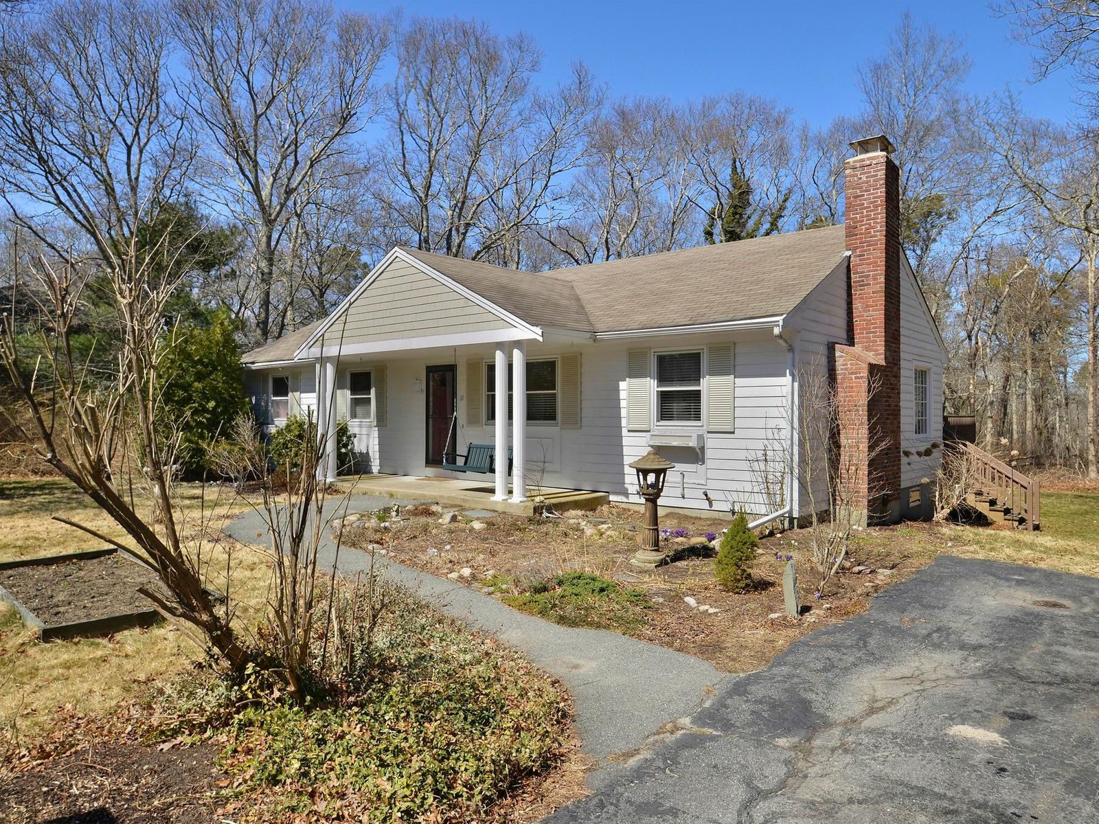 Renovated Ranch Near Town, Ocean Views, Sandwich MA Single Family Home - Cape Cod Real Estate