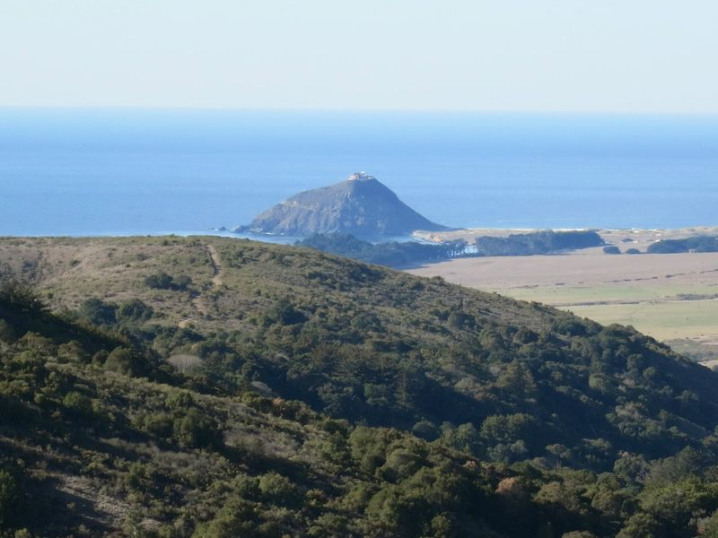 Views to Point Sur Lighthouse