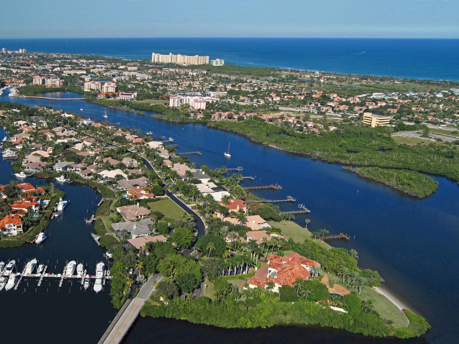 Deep Water Dock, Jupiter FL Commercial - Palm Beach Real Estate
