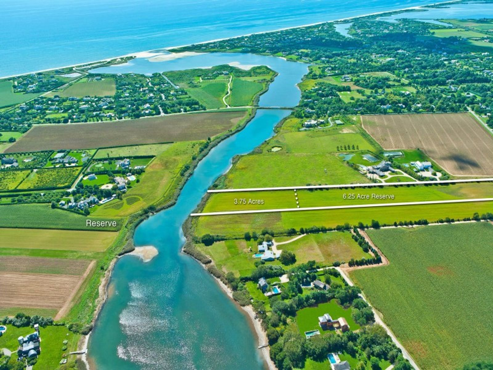Premier Waterfront, Over 10 Acres, Bridgehampton NY Acreage / Lots - Hamptons Real Estate