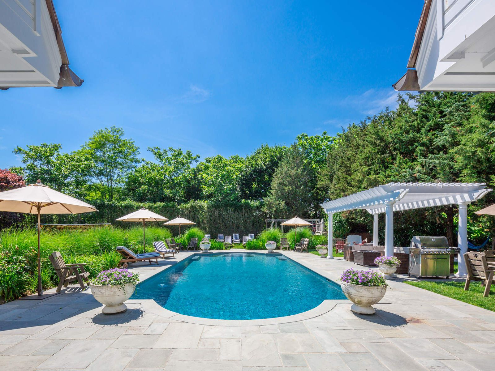 7 Bedroom 10 Baths Home in the Village, Southampton NY Single Family Home - Hamptons Real Estate
