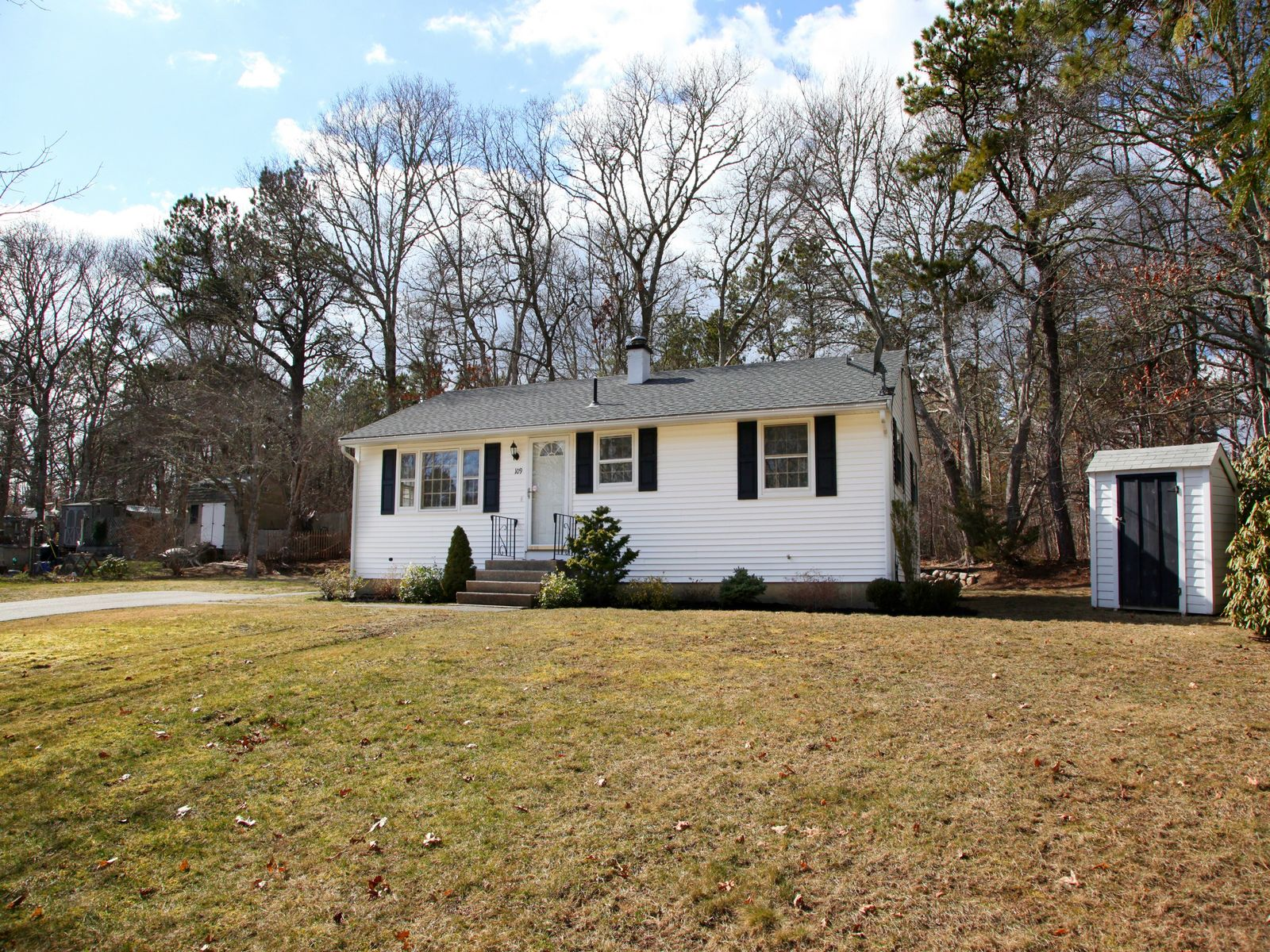 Sweet Ranch with Privacy, East Falmouth MA Single Family Home - Cape Cod Real Estate