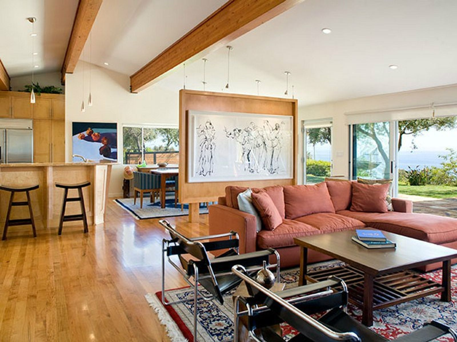 Contemporary Ranch Malibu Home