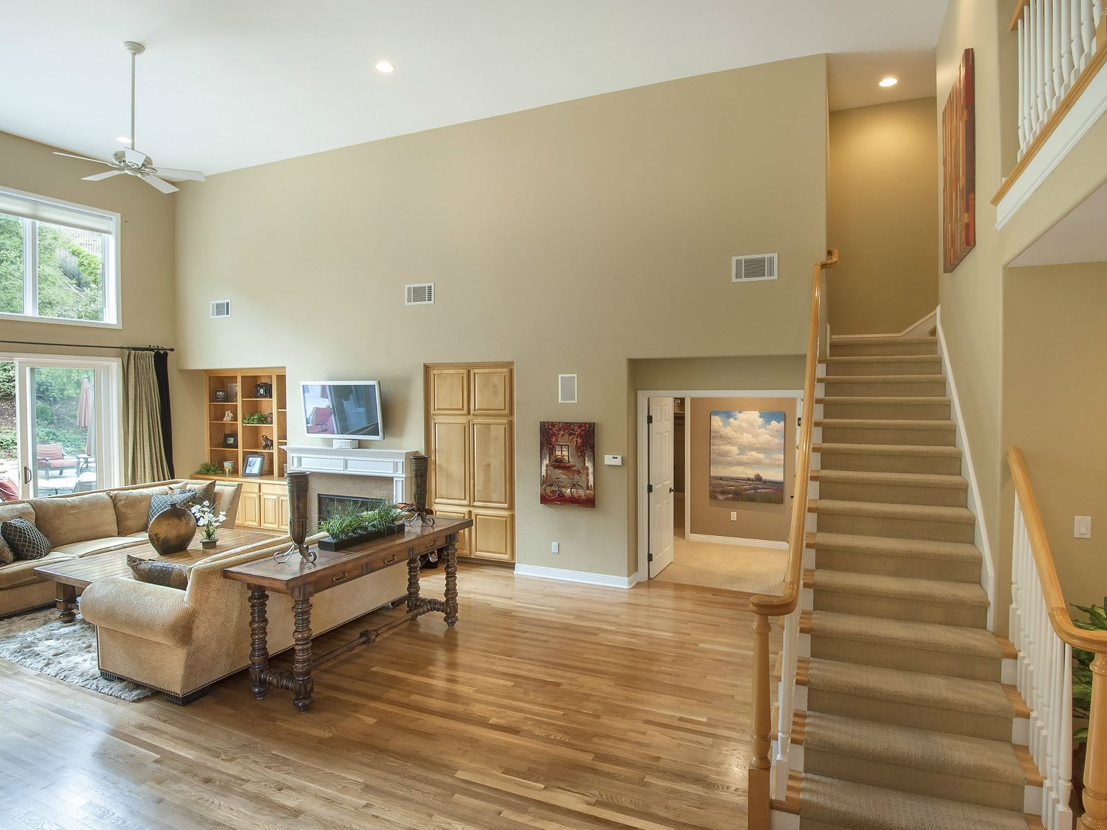 Gated 4 Bedroom with Main Floor Master