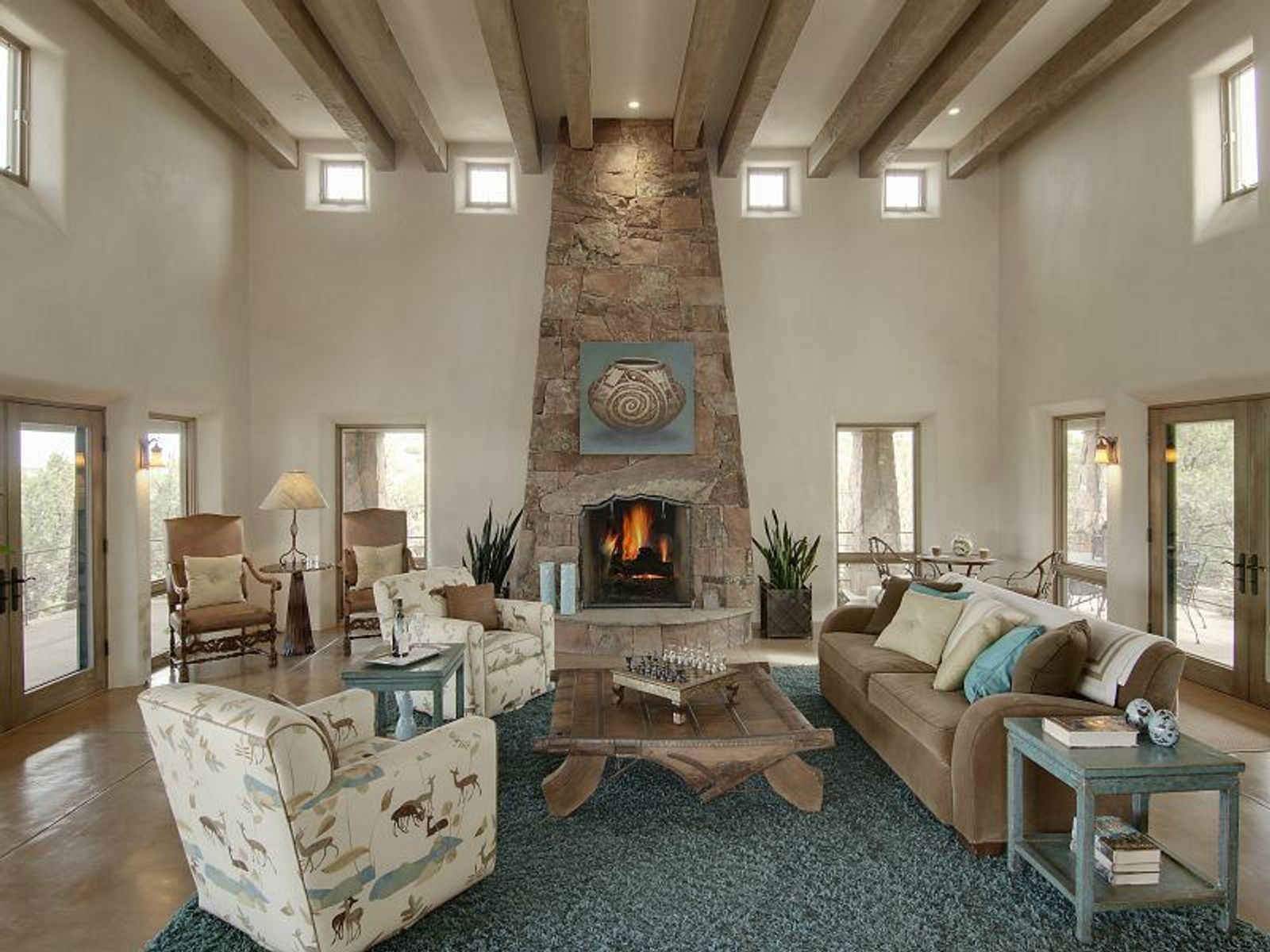 22 N. Vuelta Herradura, Santa Fe NM Single Family Home - Santa Fe Real Estate