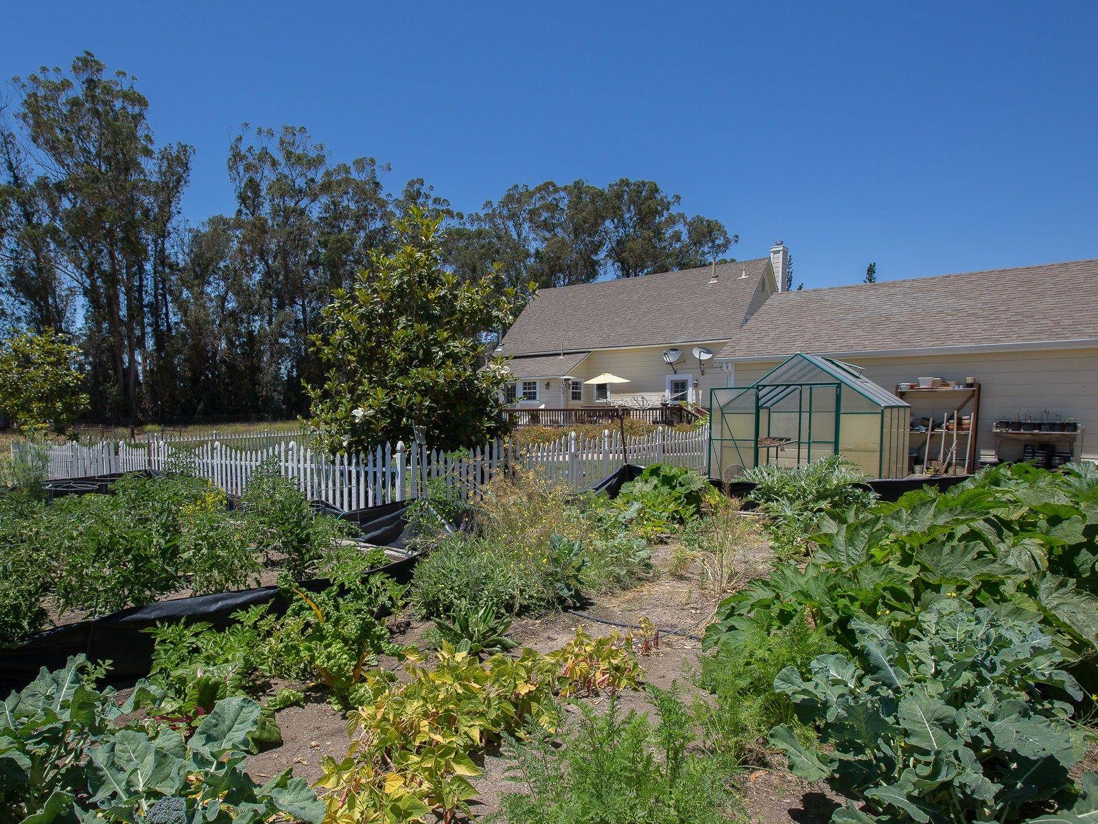 Early California Farmhouse