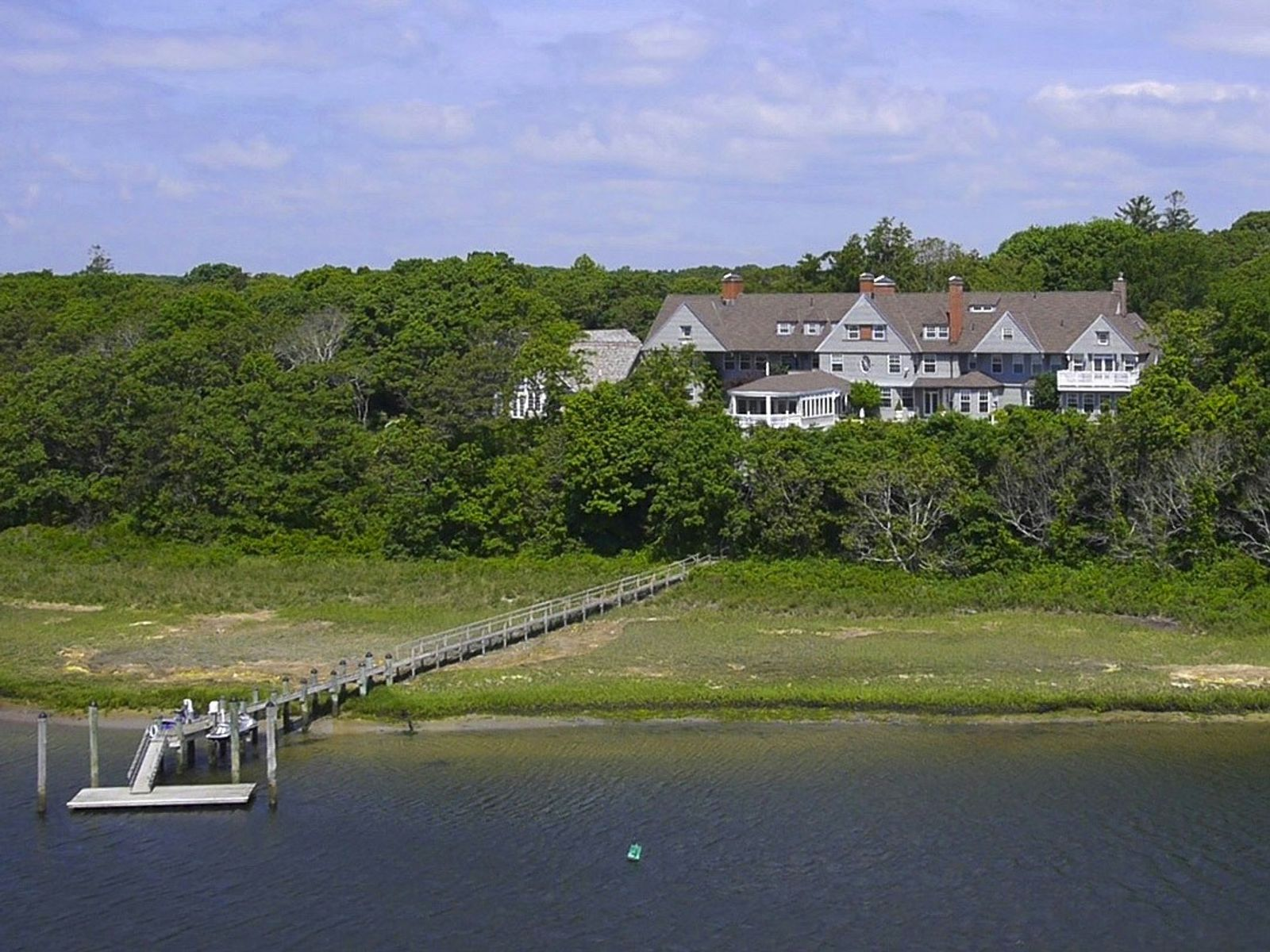 Magnificent 9 Acre Waterfront Estate, Osterville MA Single Family Home - Cape Cod Real Estate