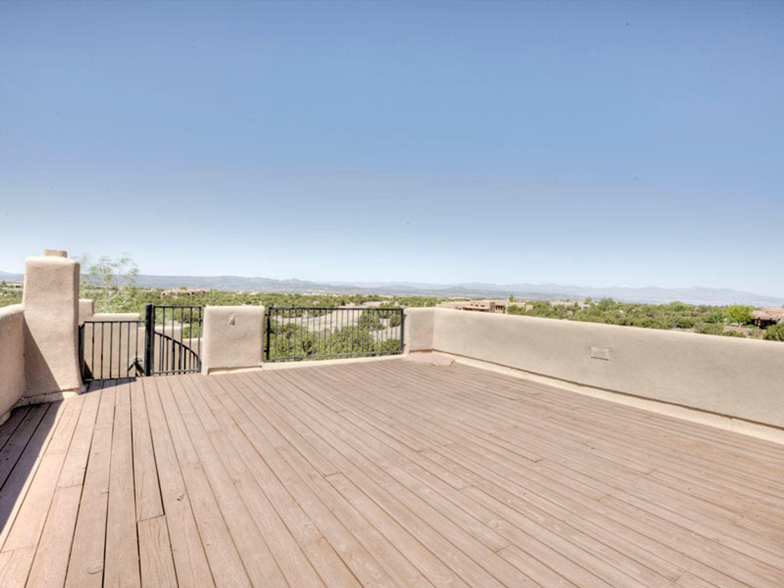 Impressive observation deck...