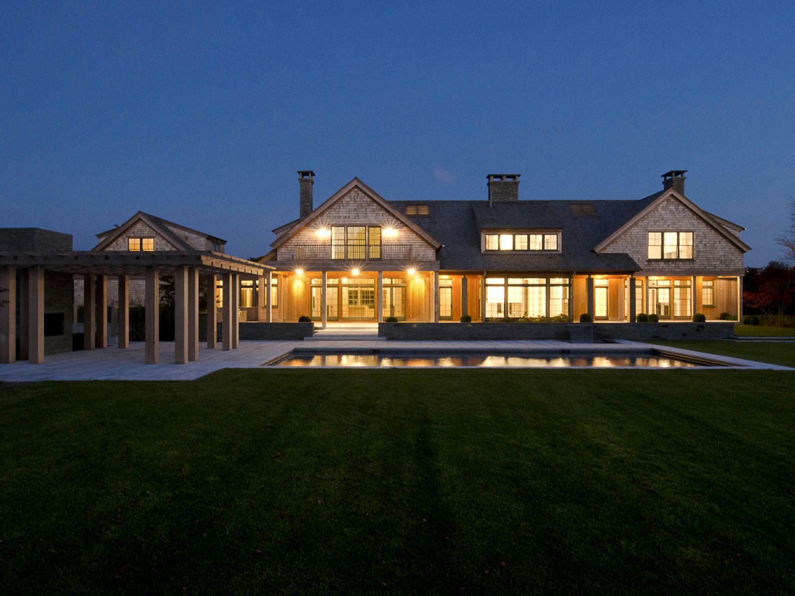 Newly Constructed Exquisite Manor Home, Water Mill NY Single Family Home - Hamptons Real Estate