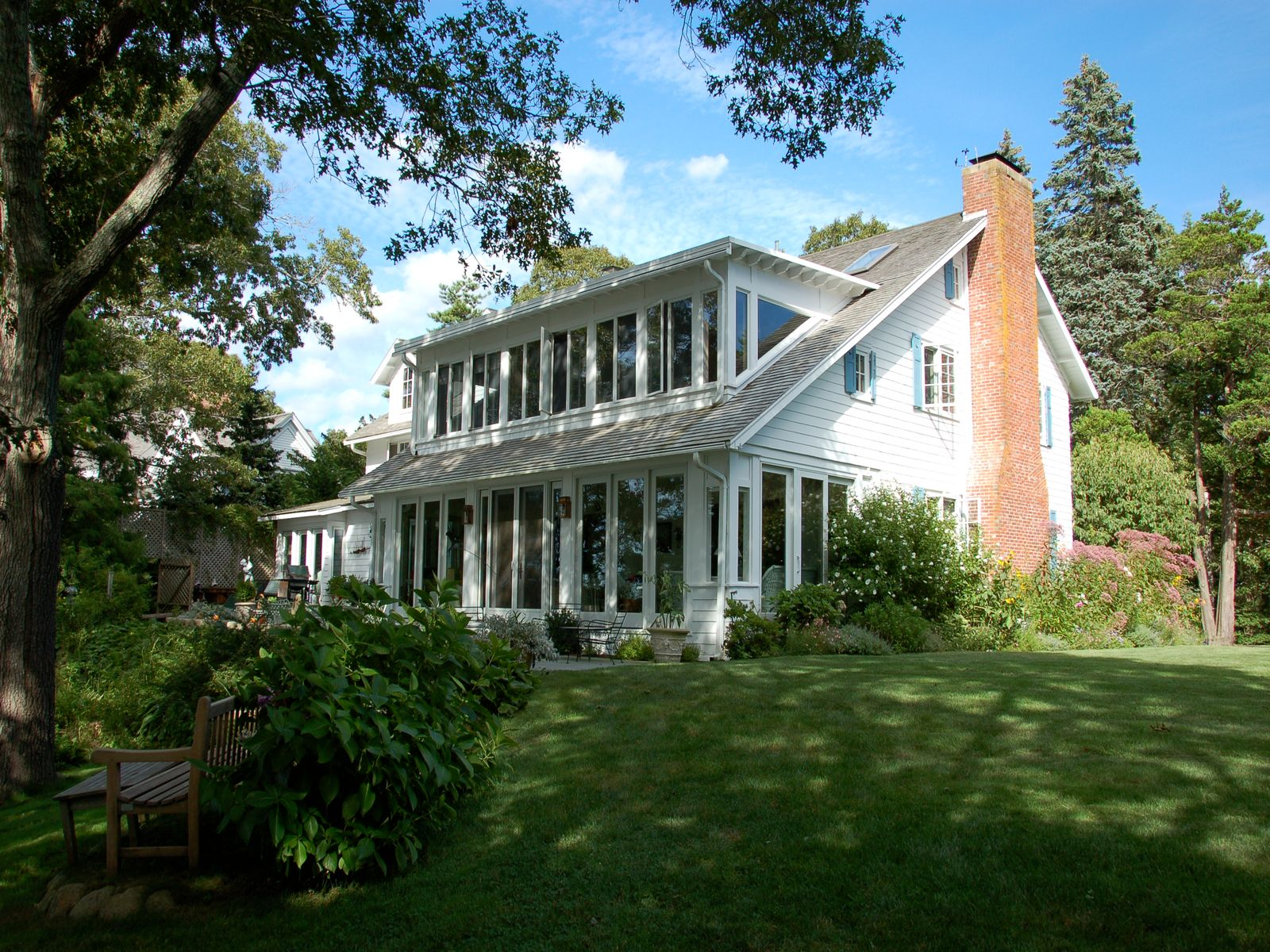 Waterfront Estate with Boathouse & Dock, Osterville MA Single Family Home - Cape Cod Real Estate