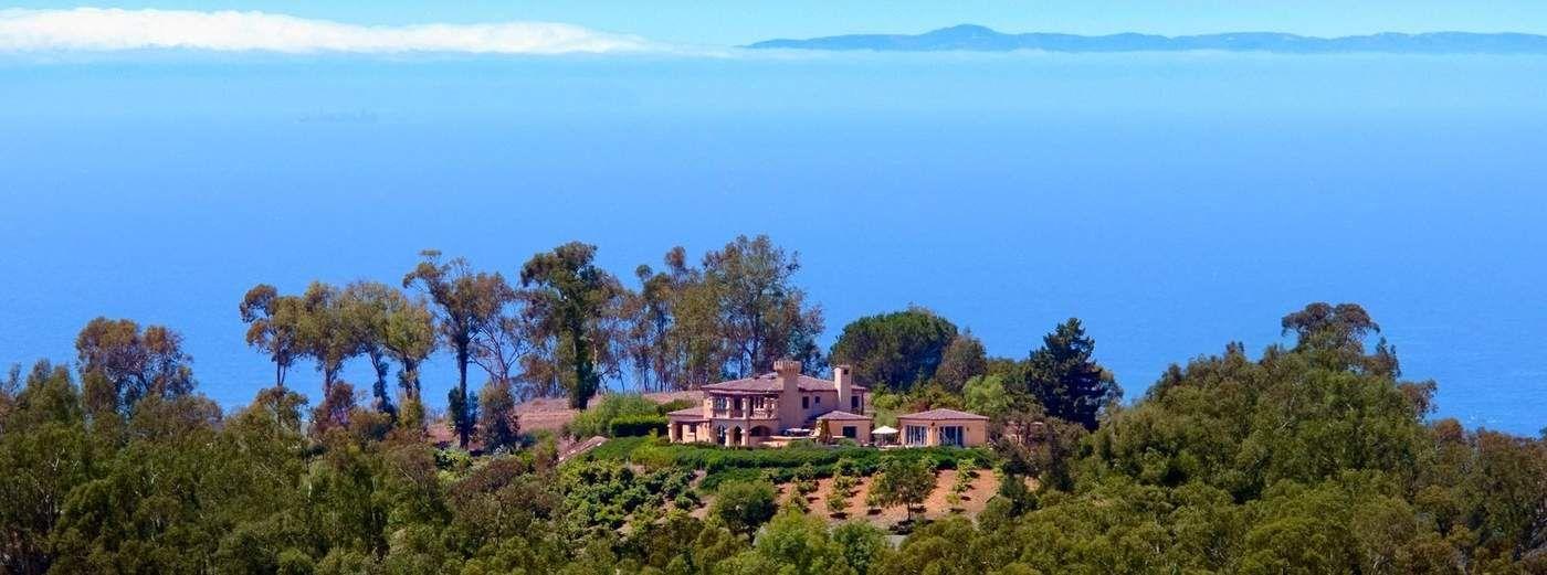 Ocean View Montecito Mediterranean
