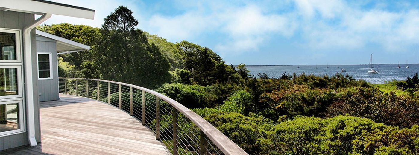 Cape Cod Water Front with Dock, 2+ Acres