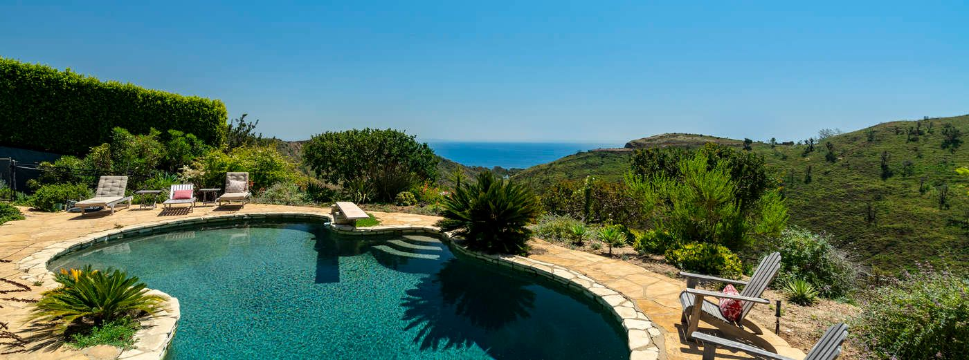 Malibu Ocean View Pool Ranch