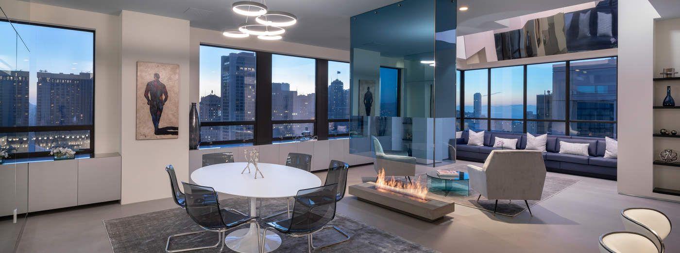 Modern Ritz-Carlton Penthouse