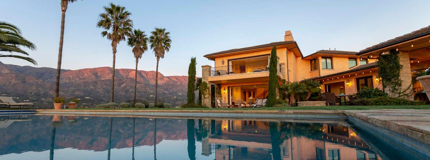 Montecito Tuscan Villa