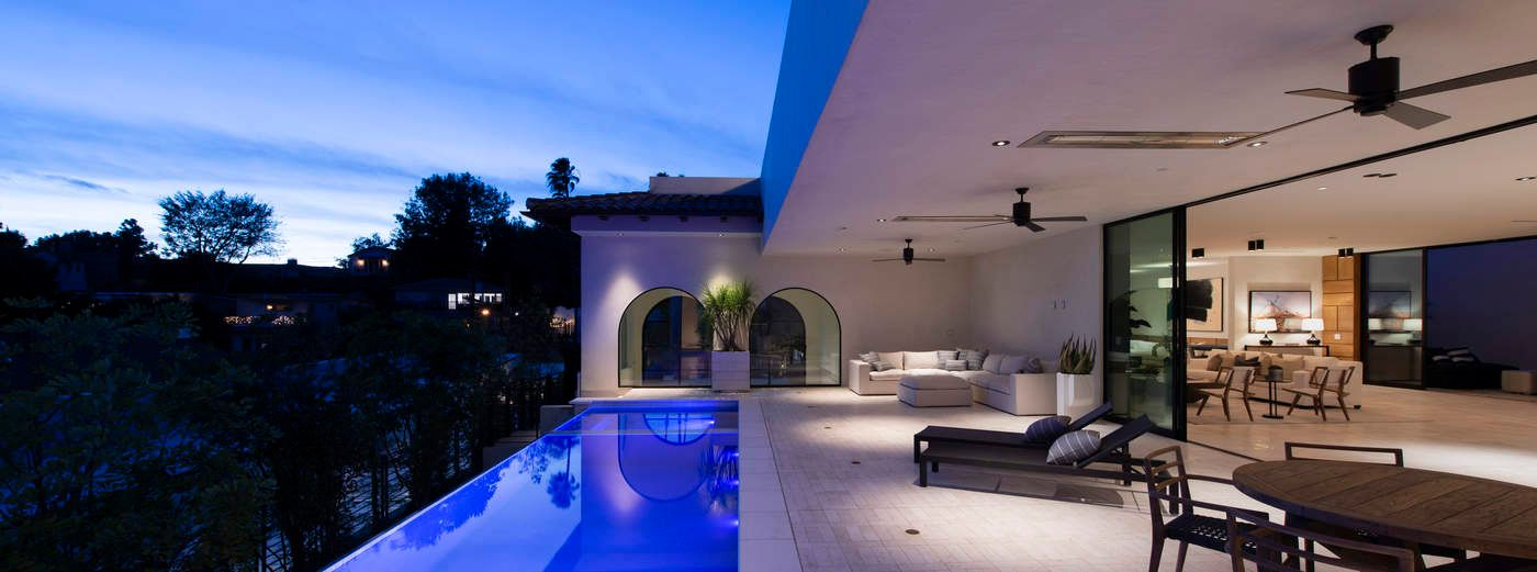 NEW MODERN SPANISH ESTATE W VIEWS