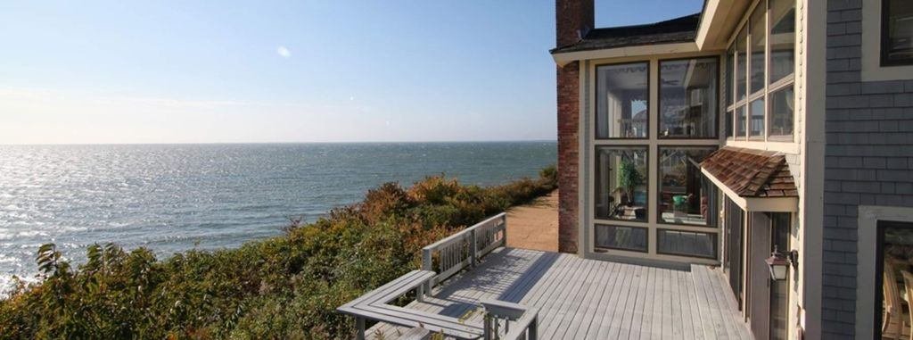 Oceanfront Contemporary in New Seabury