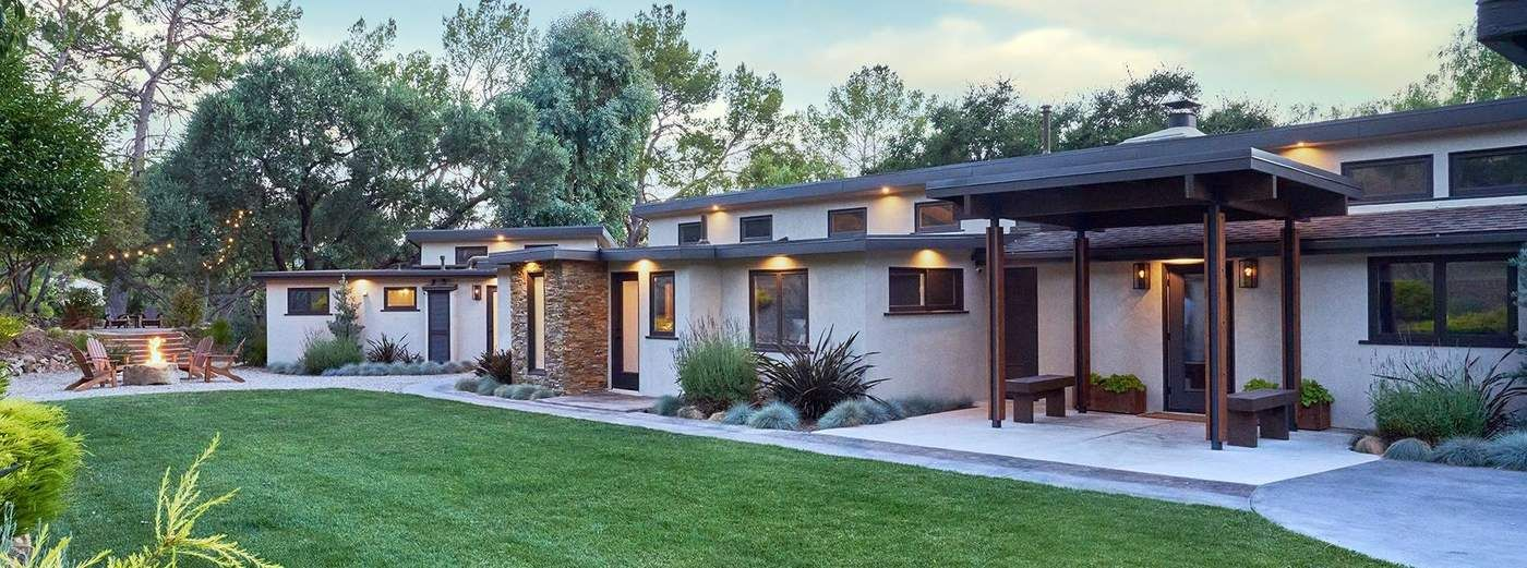 Mid-Century Meets California Ranch